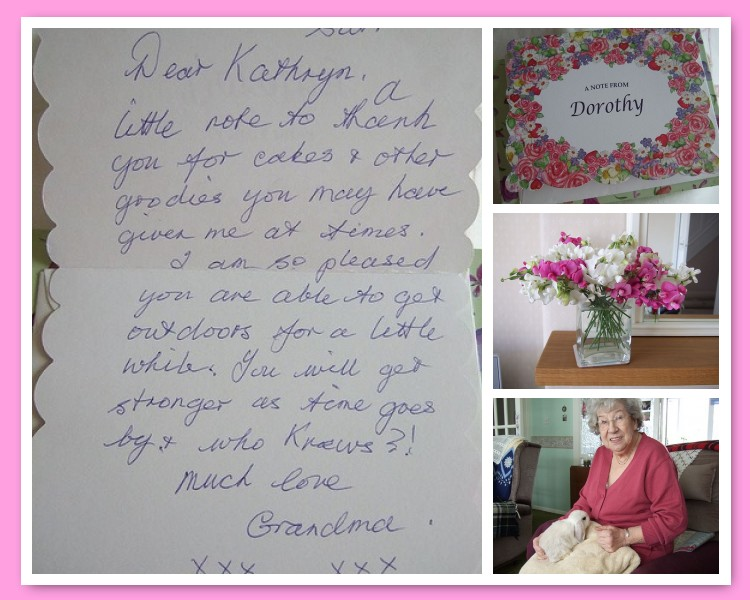 A note from grandma