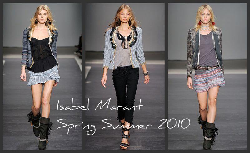 Isabel Marant spring summer2010
