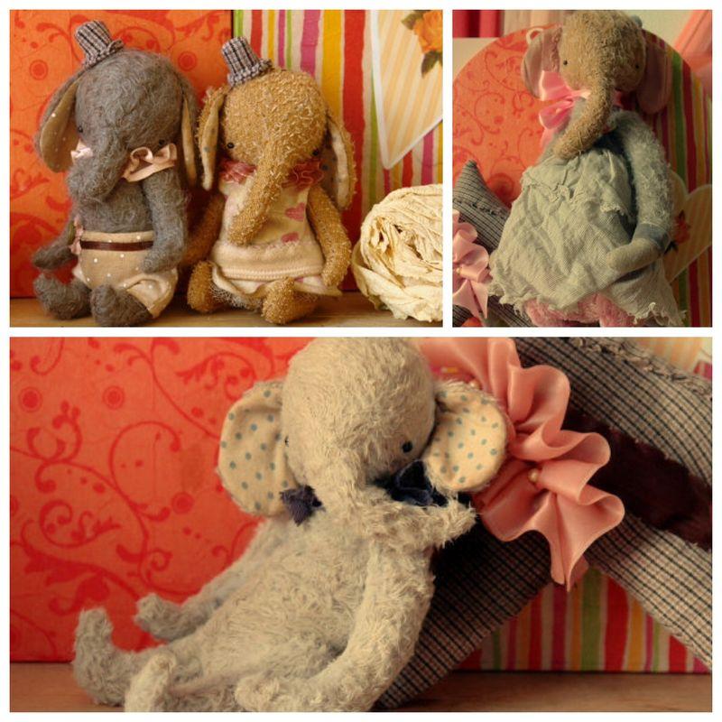 Elephants by sasha pokrass