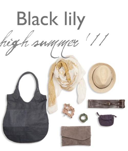 Black lily highsummer