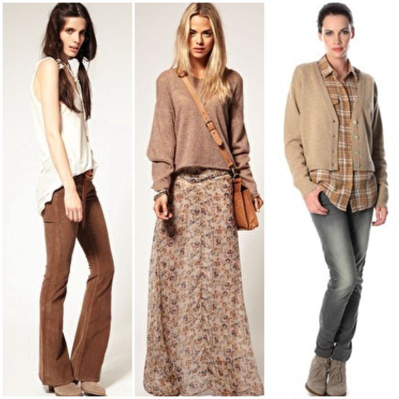 Clothes aw11 natural tones