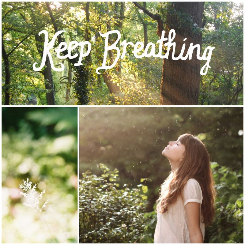 Keep breathing - enchanted wood