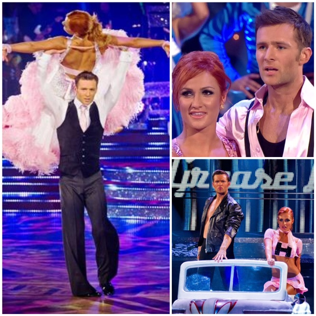 Harry and aliona pink