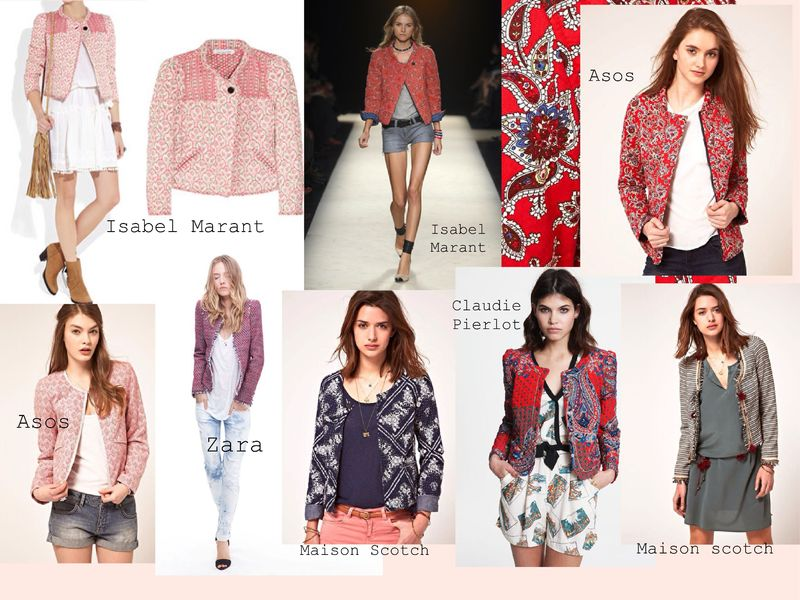 Quilted cotton jackets