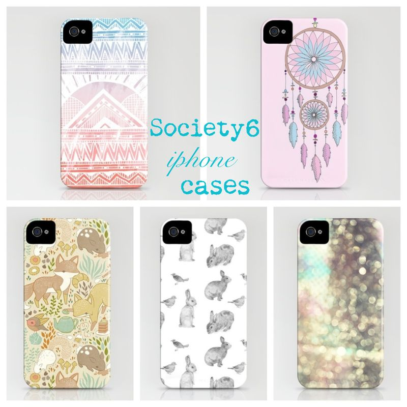 Society6 iphones cases