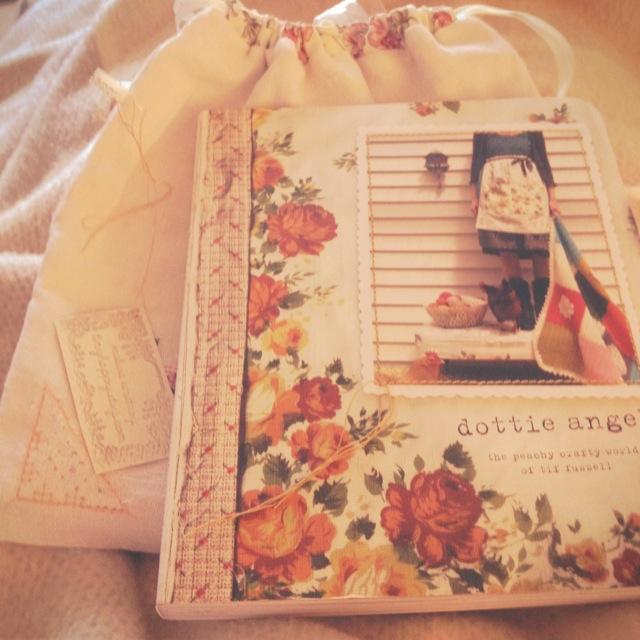 Christmas dottie angel book