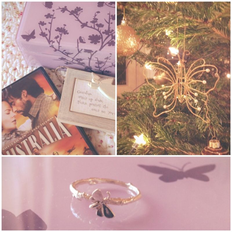 Christmas - butterfly ring