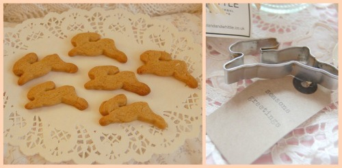 Bunny rabbit biscuits a