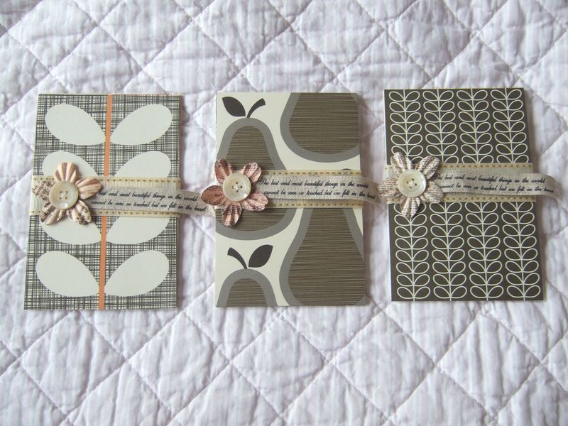 Orla kiely postcards