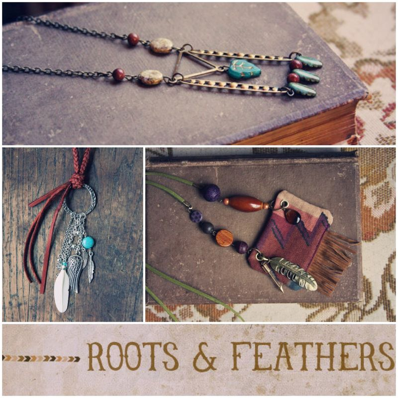 Roots and feathers etsy