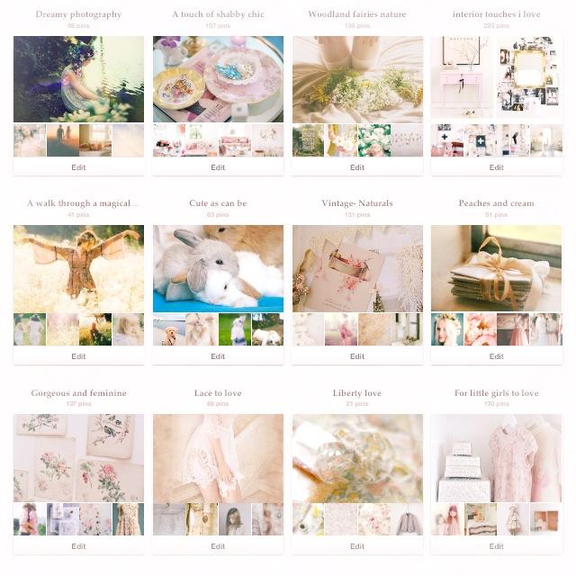 Pinterest boards 1