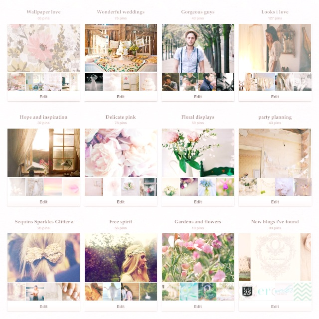 Pinterest boards 3